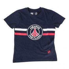 Tee shirt MBappe Team Flash 8-14 ans Enfant PSG marque pas cher prix dégriffés destockage