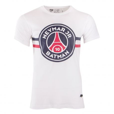 tee shirt mc neymar team batman 8 a 14 ans enfant psg. Black Bedroom Furniture Sets. Home Design Ideas
