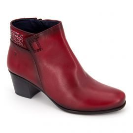 Bottines bordeaux d7927-sunb Femme DORKING