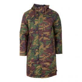 Doudoune longue camouflage Homme VANS marque pas cher prix dégriffés destockage
