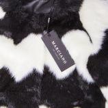 Veste en fausse fourrure noir et blanc Enfant GUESS marque pas cher prix dégriffés destockage