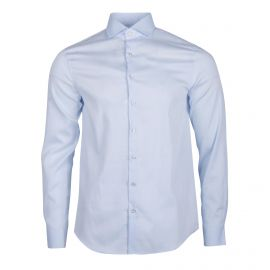Chemise bleu clair cintrée manches longues Homme CALVIN KLEIN