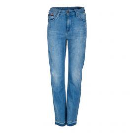 Jean slim taille haute bleu Femme Izzy TOMMY HILFIGER