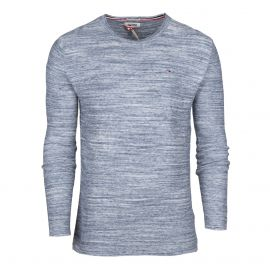 Pull manches longues col rond Homme TOMMY HILFIGER
