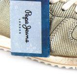 Basket gold 30724 Femme PEPE JEANS