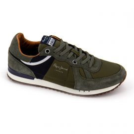 Basket pms30484 green Homme PEPE JEANS
