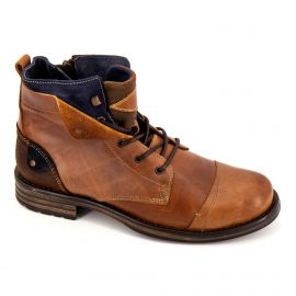 Bottine camel 4021 Homme ORLANDO