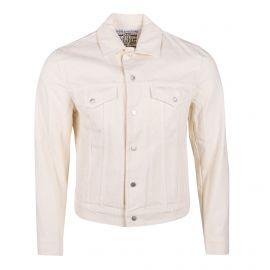 Veste en jean blanche Homme ZADIG & VOLTAIRE marque pas cher prix dégriffés destockage