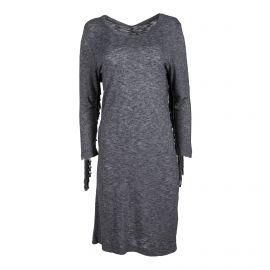 Robe grise manches longues Femme ZADIG & VOLTAIRE marque pas cher prix dégriffés destockage