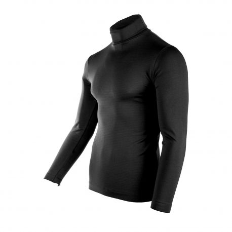 Tee shirt ml col roule devon Homme MANOUKIAN marque pas cher prix dégriffés destockage