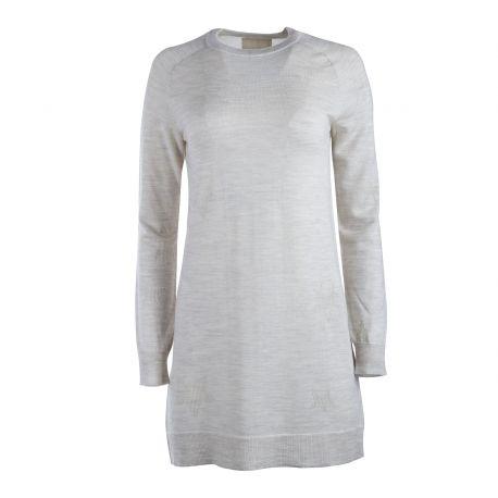 Robe pull courte en laine manches longues Femme ZADIG & VOLTAIRE marque pas cher prix dégriffés destockage
