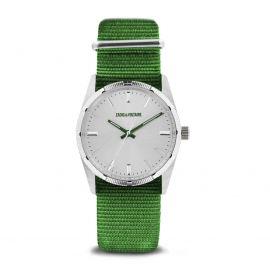 Montre green face silver zvf212 Homme ZADIG & VOLTAIRE marque pas cher prix dégriffés destockage