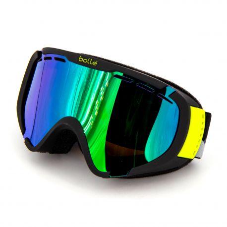 Masque ski noir Catégorie 2 temps nuageux Enfant BOLLE marque pas cher prix dégriffés destockage