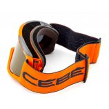 Masque ski orange Catégorie 3 Beau temps Adulte CEBE marque pas cher prix dégriffés destockage