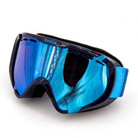 Masque ski bleu Catégorie 2 temps nuageux Enfant BOLLE marque pas cher prix dégriffés destockage