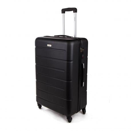 Valise grand modèle 105l noire TORRENTE marque pas cher prix dégriffés destockage