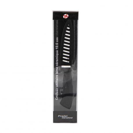 Couteau lame céramique 12.5 cm PRADEL marque pas cher prix dégriffés destockage
