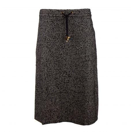 Jupe longue cordon ceinture Femme AMERICAN VINTAGE marque pas cher prix dégriffés destockage