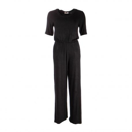 Combinaison pantalon manches courtes fluide Femme AMERICAN VINTAGE marque pas cher prix dégriffés destockage