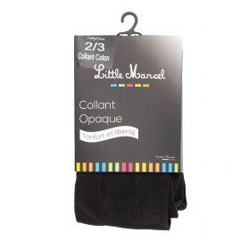 Collant opaque noir Femme LITTLE MARCEL