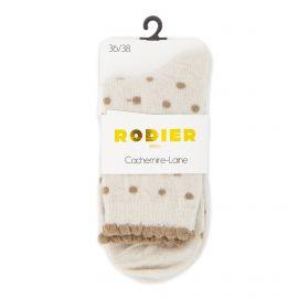 Chaussettes cachemire laine peguy 36/41 Femme RODIER marque pas cher prix dégriffés destockage