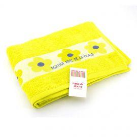 Serviette drap de douche 70x140cm AGATHA RUIZ marque pas cher prix dégriffés destockage
