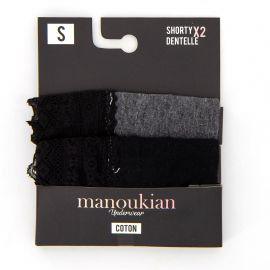 Lot de 2 shorty 12890483 Femme MANOUKIAN