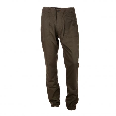 Pantalon toile droit poches rabat plaqué Homme APRIL 77 marque pas cher prix dégriffés destockage