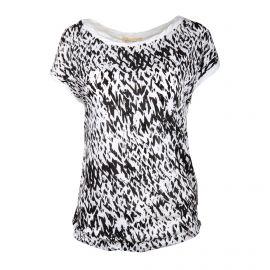 Tee shirt MC imprimé R550 KIP83 Femme AMERICAN VINTAGE marque pas cher prix dégriffés destockage