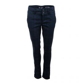 Pantalon toile écossais Femme ON YOU marque pas cher prix dégriffés destockage