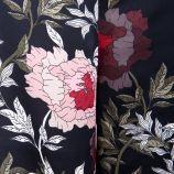 Pantalon 7/8ème ptc s1936f fluide imprimé fleurs Femme BEST MOUNTAIN marque pas cher prix dégriffés destockage