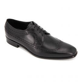Chaussures Derbies noires Maxim Jital Homme PIERRE CARDIN marque pas cher prix dégriffés destockage