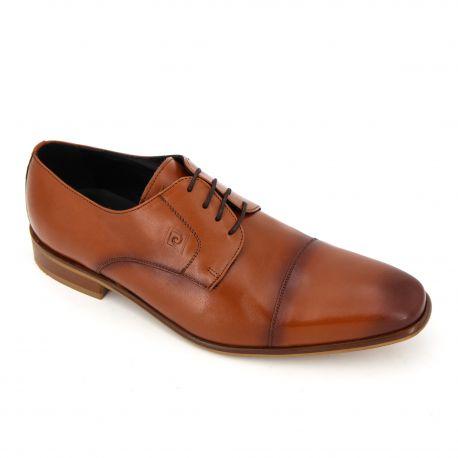 Chaussures Derbies cuir lisse lacets Maxim Jongo Homme PIERRE CARDIN marque pas cher prix dégriffés destockage