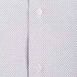 Chemise manches longues coupe ajustée graphique moucheté napoli Homme SINEQUANONE marque pas cher prix dégriffés destockage