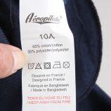 Bermuda sweat écusson bicolore cordon ceinture Enfant AEROPILOTE marque pas cher prix dégriffés destockage