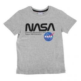 Tee shirt manches courtes logo floqué Enfant NASA marque pas cher prix dégriffés destockage