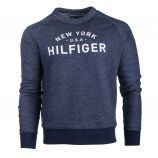 Sweat manches longues effet jean New York USA Homme TOMMY HILFIGER