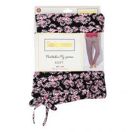 Pantalon de pyjama imprimé fleurs Penka Femme SINEQUANONE marque pas cher prix dégriffés destockage