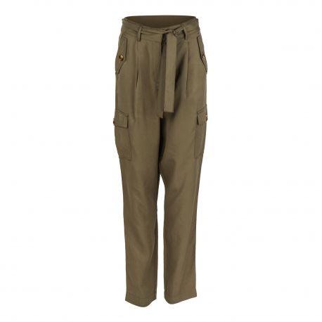 Pantalon fluide 23032646 Femme OBJECT marque pas cher prix dégriffés destockage