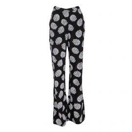 Pantalon classique fluide imprimé fleur Femme AMERICAN VINTAGE marque pas cher prix dégriffés destockage