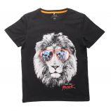 Tee shirt manches courtes col imprimé animal Enfant NAME IT