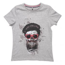 Tee shirt manches courtes coton floqué Enfant NAME IT marque pas cher prix dégriffés destockage