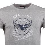 Tee shirt mc ax0322 Homme AVIREX marque pas cher prix dégriffés destockage