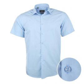Chemise manches courtes coupe droite popeline curt Homme SINEQUANONE