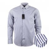 Chemise rayée manches longues Homme SINEQUANONE