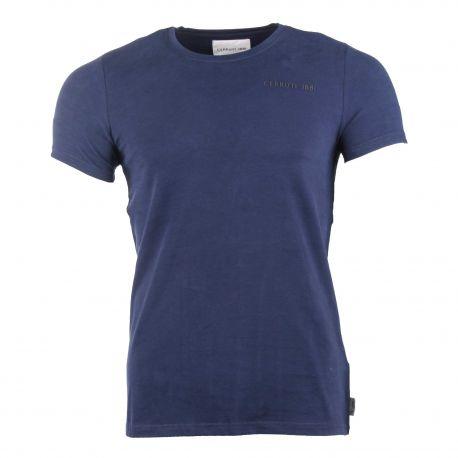 Tee shirt manches courtes col rond ceejay Homme CERRUTI marque pas cher prix dégriffés destockage