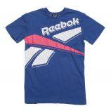 tee shirt manches courtes coton doux floqué Enfant REEBOK