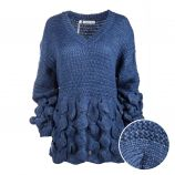 Pull long tunique manches longues mohair Femme CARE OF YOU