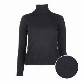 Pull manches longues roulé cachemire laine Femme CASHMERE COMPANY marque pas cher prix dégriffés destockage