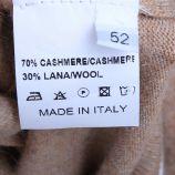 Pull manches longues rond cachemire laine Homme CASHMERE COMPANY marque pas cher prix dégriffés destockage